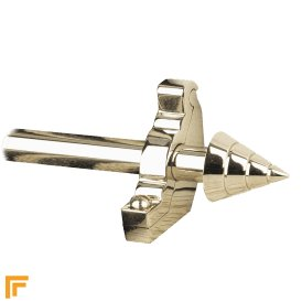 Vision Polished Nickel Arrow Plain Stair Rod